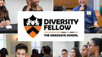 Image grid with pictures of diversity fellows with diversity fellows logo in center